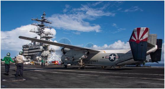 """美军航母悄悄从东海""""溜了"""""""