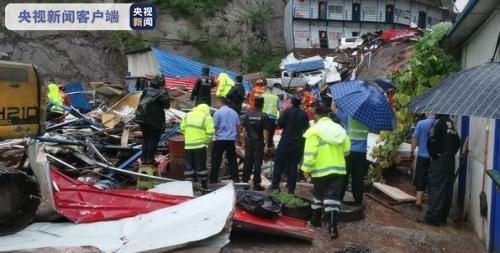 暴雨影响云南彝良泥石流灾害 造成13个于恒崩塌