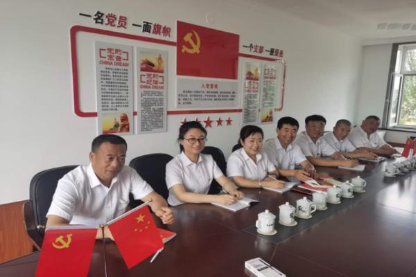 黑龙江省肇东市市场局党组:夯实基