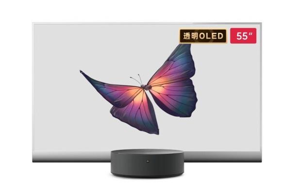 49999元,小米大师OLED透明电视明日开售