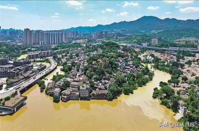 长江4号洪水、嘉陵江1号洪水顺利通过主城