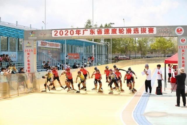 惠州摘取4金!广东省速度轮滑选拔赛举行