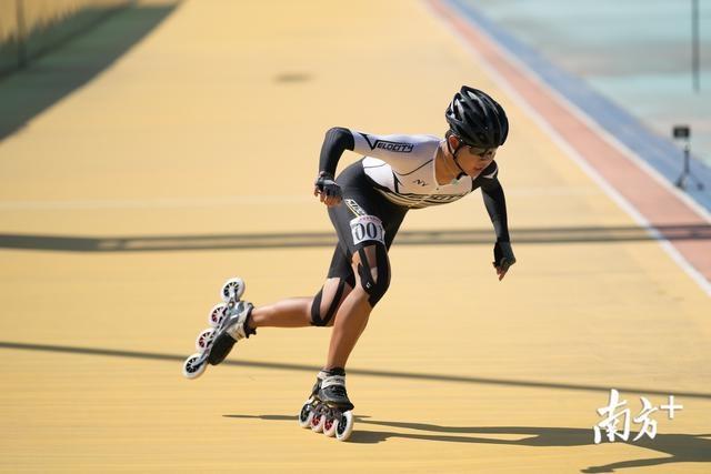 惠州拿下4个第一名!广东省速度轮滑选拔赛举行