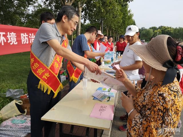 滨州市生态环境局开展《土壤污染防治法》普法宣传活动