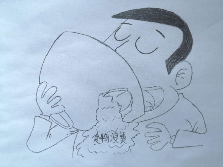 【地评线】华龙两江评:珍惜粮食 拒绝浪费(漫评)