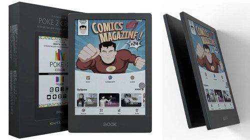 文石推出6英寸彩色电纸书,支持4096色彩显示