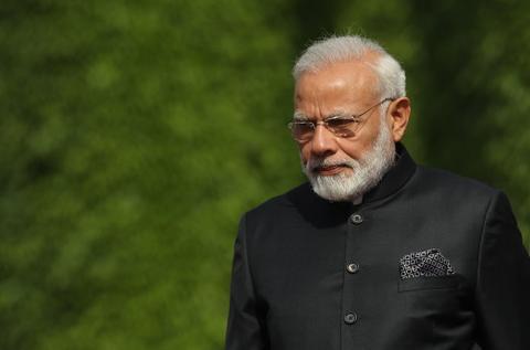 印度总理莫迪(Getty)