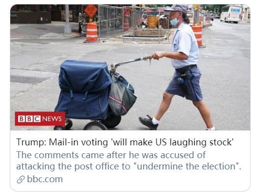 特朗普能阻止全面邮寄选票吗?