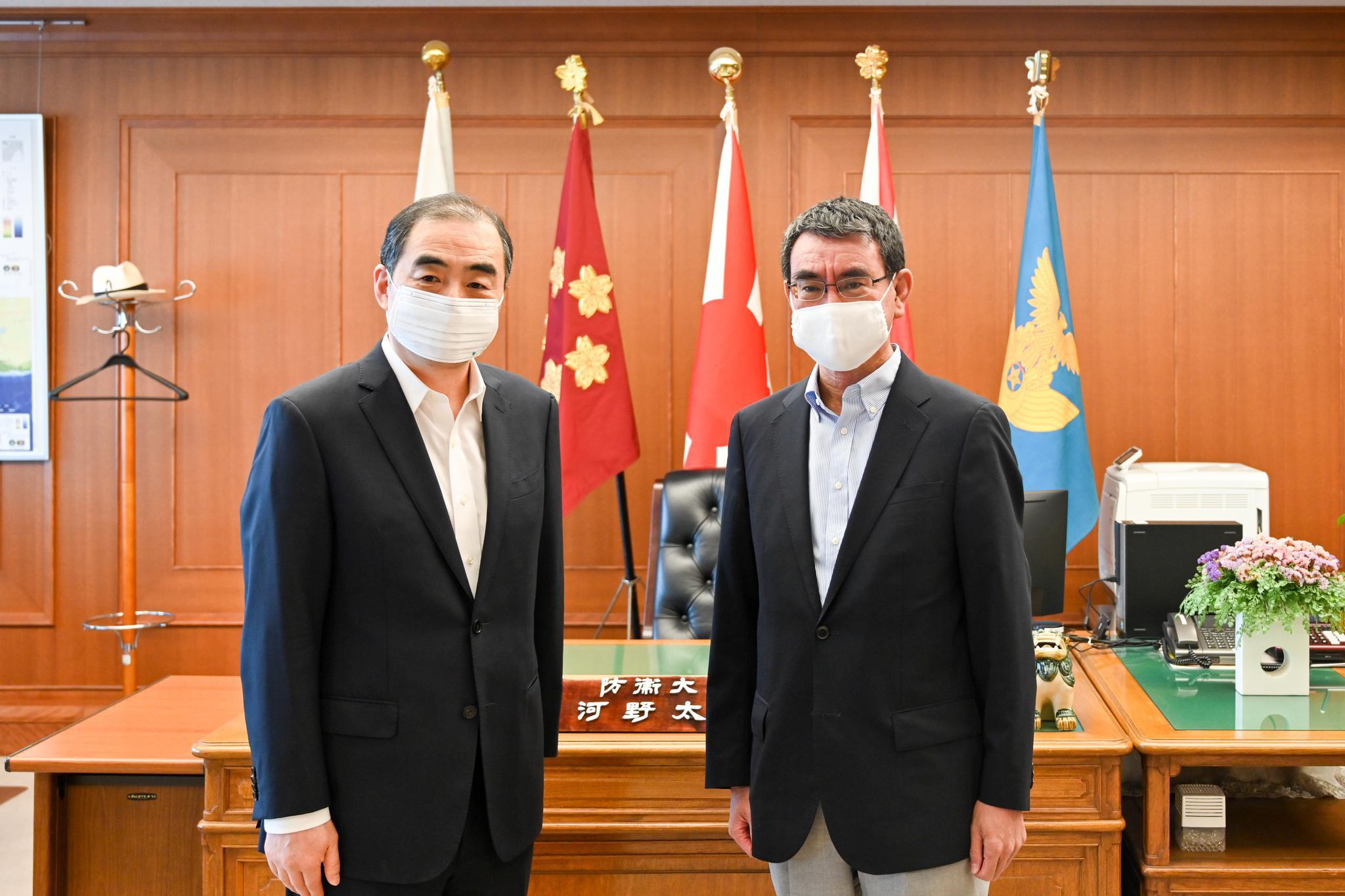 驻日本大使孔铉佑就涉海问题阐述中国立场