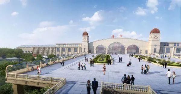 城建|汉口火车站北广场开建,建成后,有效缓解二环线汉口段交通压力
