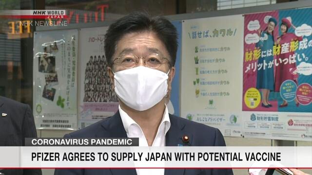 日本首次下单新冠疫苗 1.2亿剂