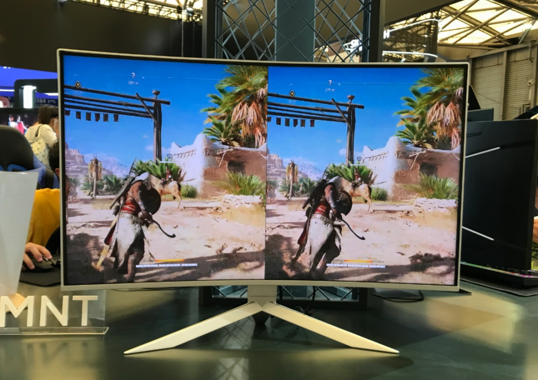 TCL华星展示 240Hz 高刷新率平板显示屏,96% 屏占比