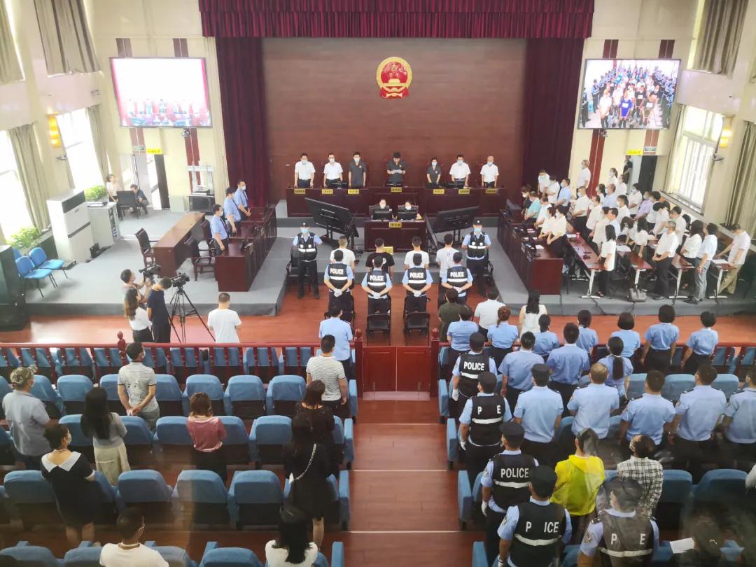 宁夏一黑社会性质组织覆灭,主犯被判有期徒刑25年