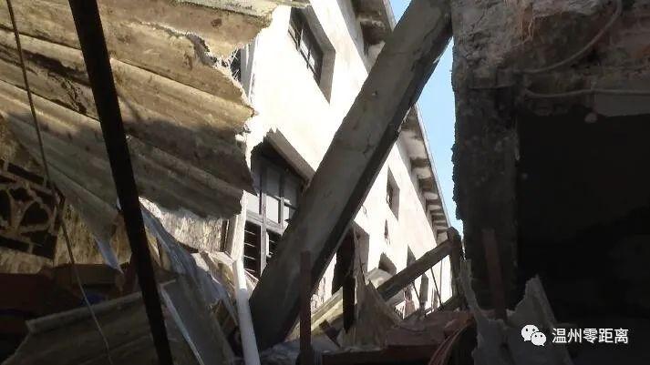 视频:温州一房屋拆迁,隔壁工厂却遭殃了