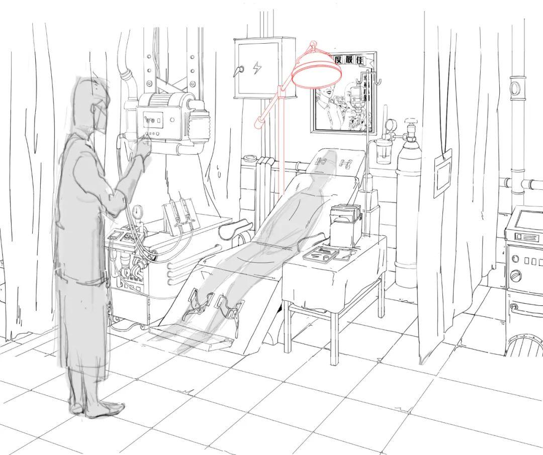 昂西获奖短片《修容镇》制作特辑——修容设备与面具