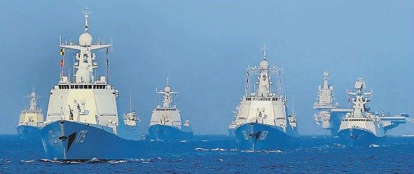 【百事2开户】中国海军加速百事2开户从绿水迈向蓝水图片