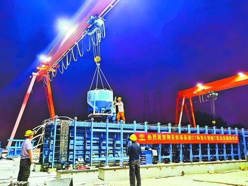 厦门翔安机场高速主体工程取得重大进展