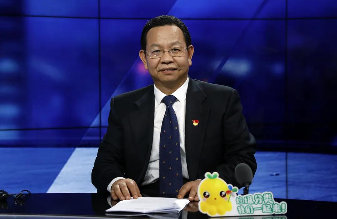 △北京市城管委主任 孙新军(图片来源:BTV新闻)