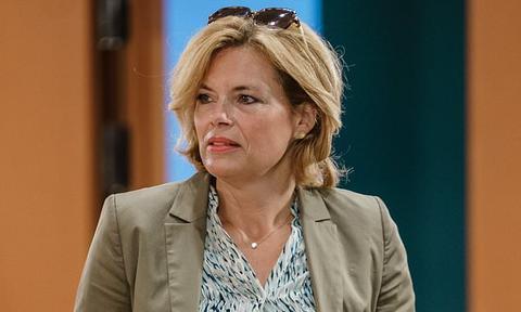 德国农业部长茱莉娅·克罗克纳(每日邮报)