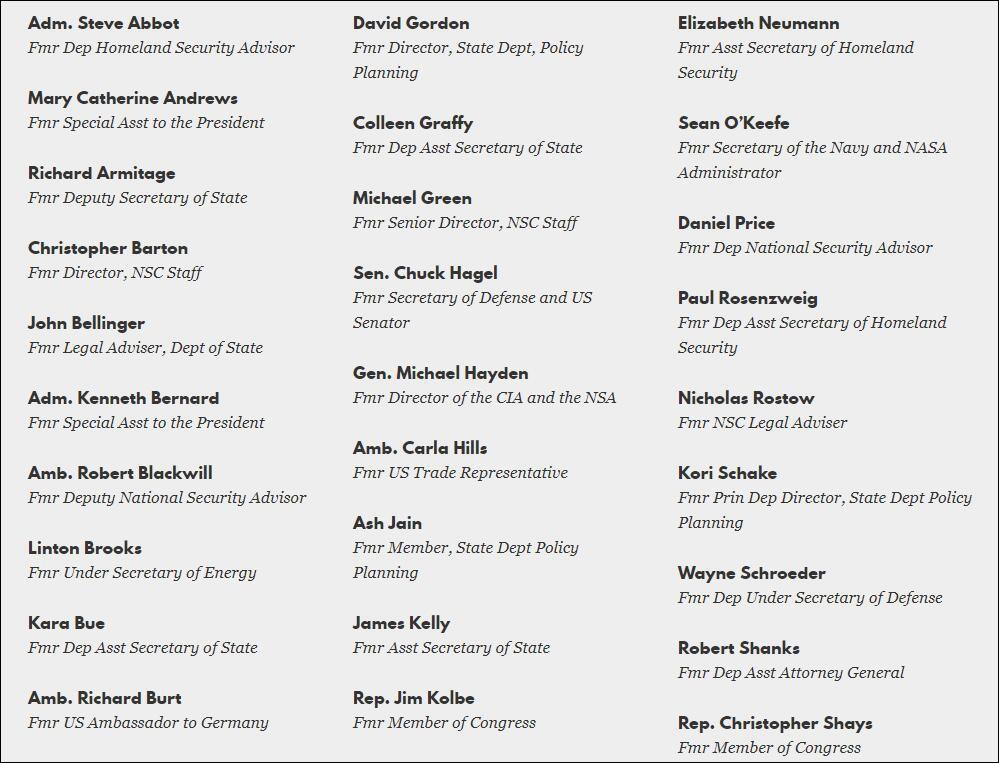 """列出特朗普""""10宗罪"""" 70多位共和党联合声明支持拜登"""
