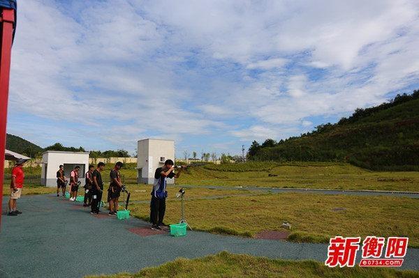 2020年省青少年射击锦标赛(飞碟项目)在衡阳开始