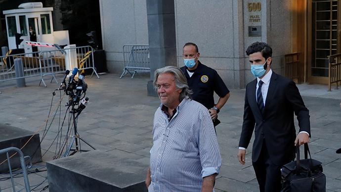 澎湃:班农被捕只是大规模调查开始 未来或更多新被告