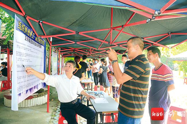 儋州南丰镇:多措并举 创新形式 充分调动贫困户生产积极性