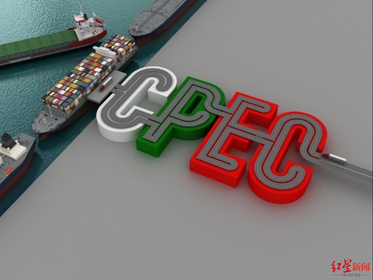 ▲中巴经济走廊(CPEC)。图据《今日巴基斯坦》
