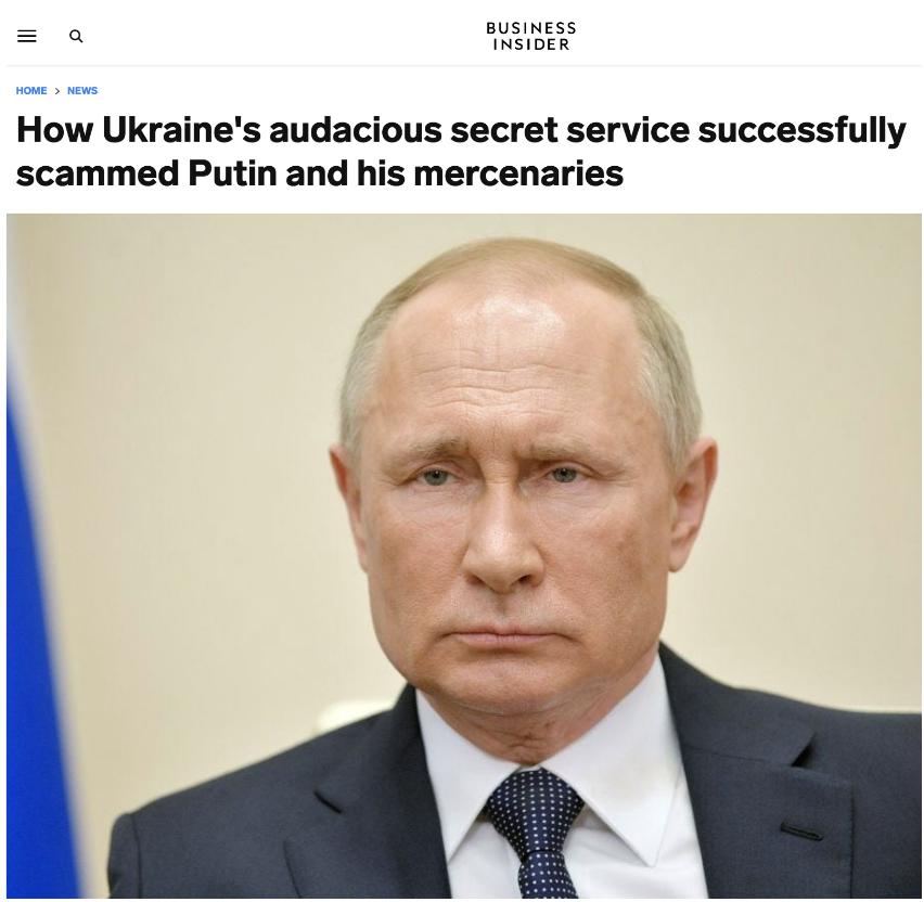 乌克兰做局诱捕俄雇佣兵功亏一篑 却震惊全球情报界