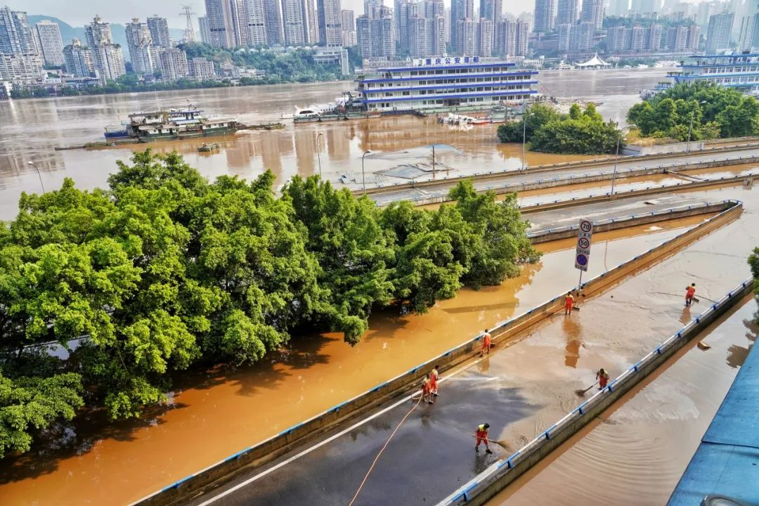 【战洪】洪水渐退,清淤工作进展如何?