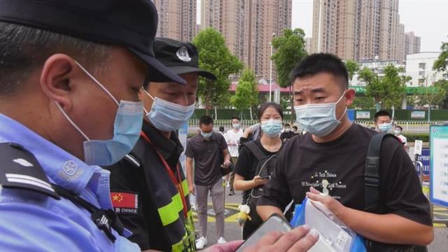 """""""省考""""首日,武汉48个考点周边实行交通管制"""