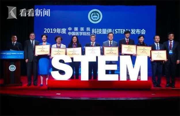 视频|2019年中国医院科技量值TOP10:上海三家医院上榜