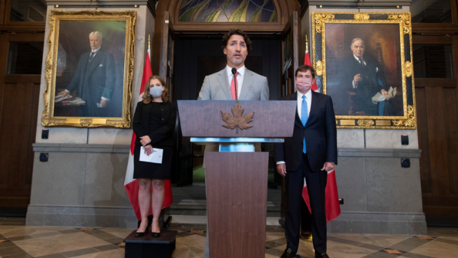 """北美观察丨特鲁多政府正在""""赌一把"""""""