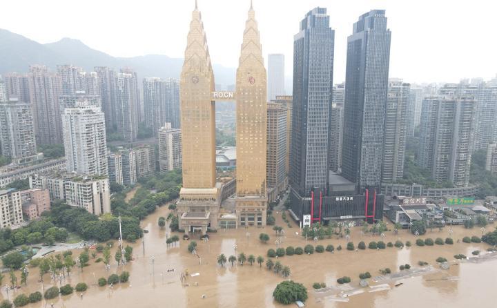 重庆汗青稀有特大大水警报今晨排除