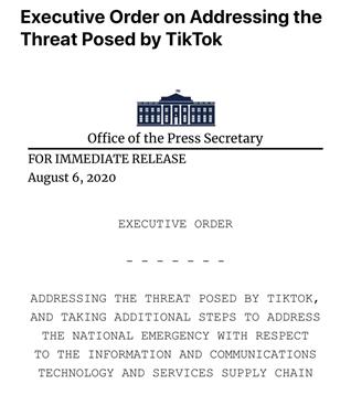 微信这事儿,特朗普政府改主意了?
