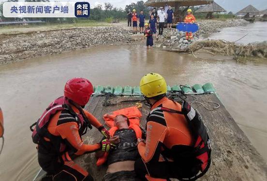 一艘皮艇在云南盈江意外翻车 3人获救
