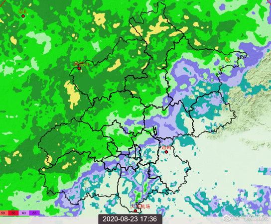 雨已进京!北京大到暴雨将至 主要降雨时段在今夜至明天凌晨