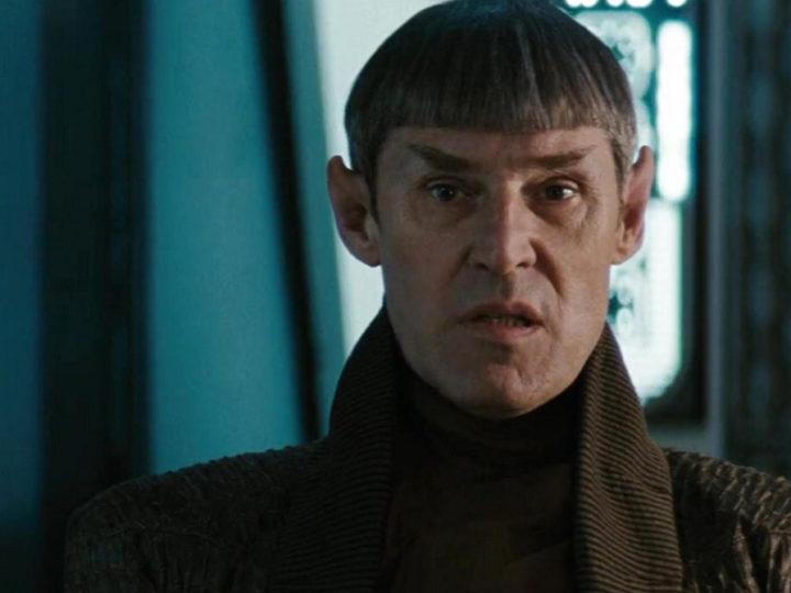 克罗斯在《星际迷航》中饰演史波克的父亲