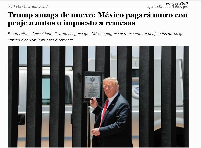 △图为特朗普在边境墙竣工200英里庆祝仪式上的现场图