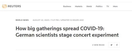 咋回事?!德国拿演唱会做新冠疫情大型人体实验