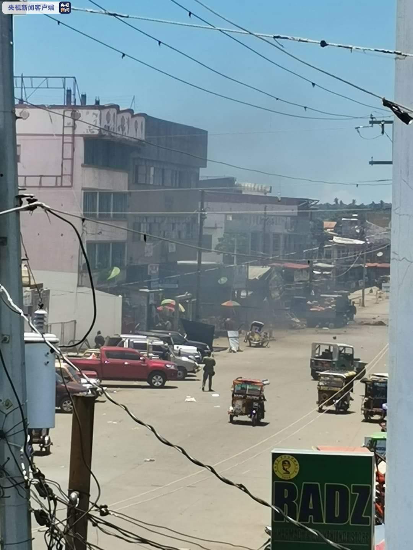 菲律宾发生连环爆炸事件 4名士兵和2名平民身亡
