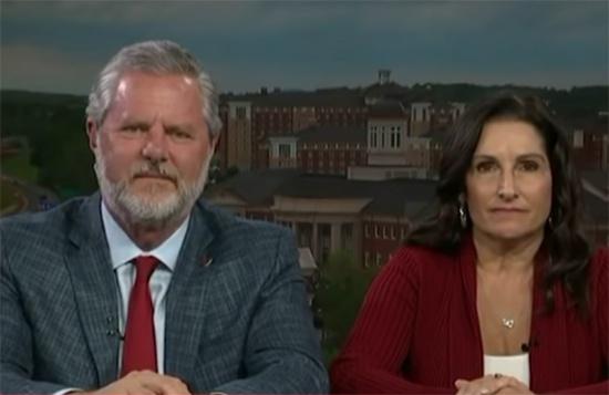 美国福音派领袖法威尔夫妇,视频截图
