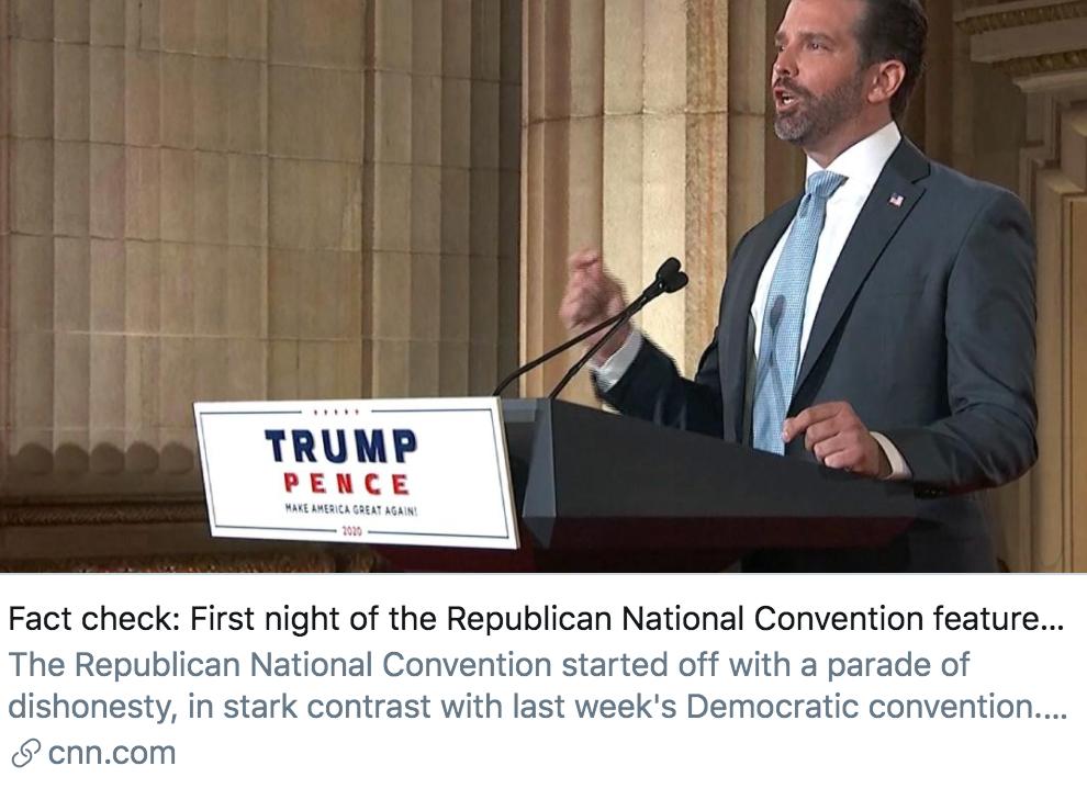 """美国共和党大会开幕 或将成特朗普家族""""真人秀""""?"""