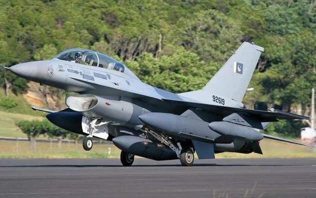 资料图:巴基斯坦F-16战机
