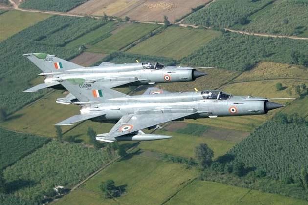 资料图:印度米格-21战机