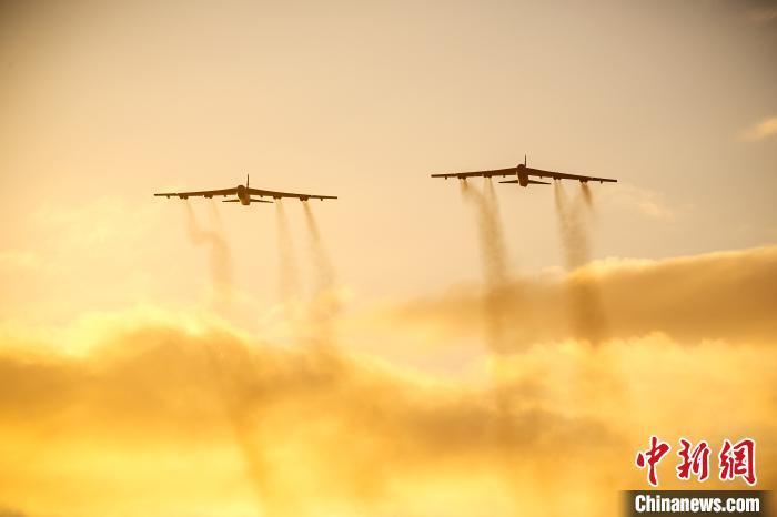 美军B-52轰炸机。美军欧洲司令部供图