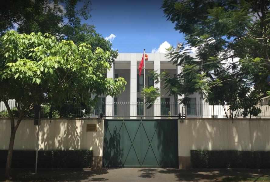 中国驻圣保罗总领事馆(资料图)