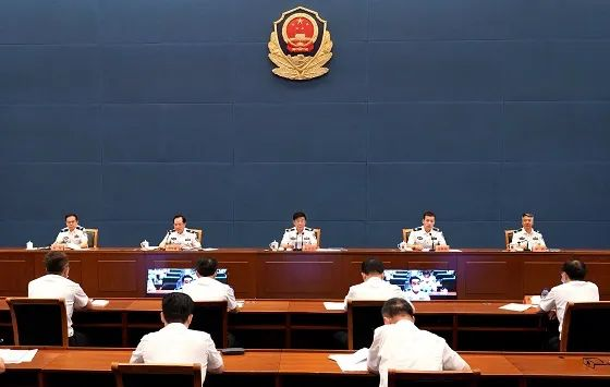 中国人民警察警旗授旗仪式现场披露 几个细节值得关注