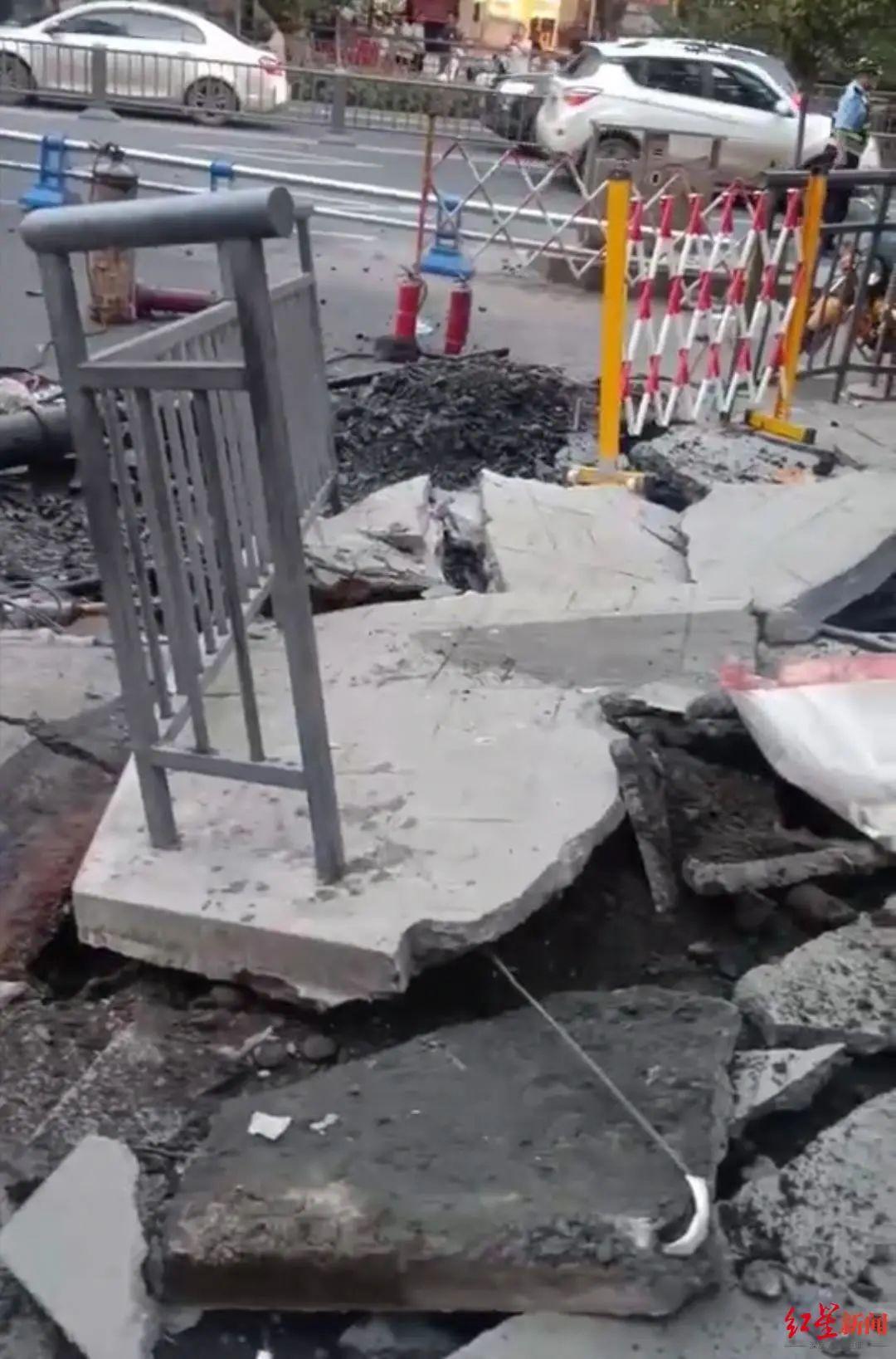 乐山某燃气抢修发生爆炸?初步判断是污水井甲烷爆炸