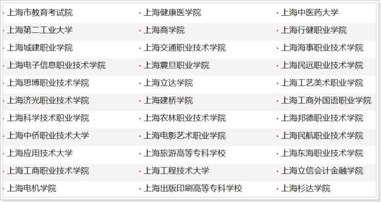 2020年上海市普通高校高职(专科)招生网上咨询,本周五周六举行
